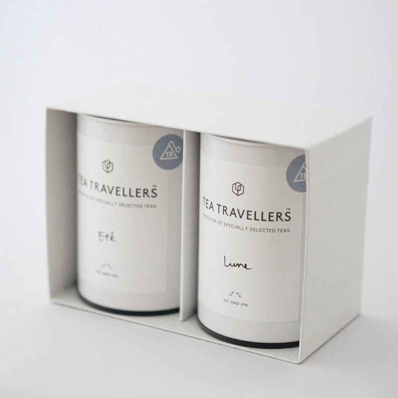 ティーバッグ2g アッサムCTC+アールグレイセイロン各20個缶セット(箱入)