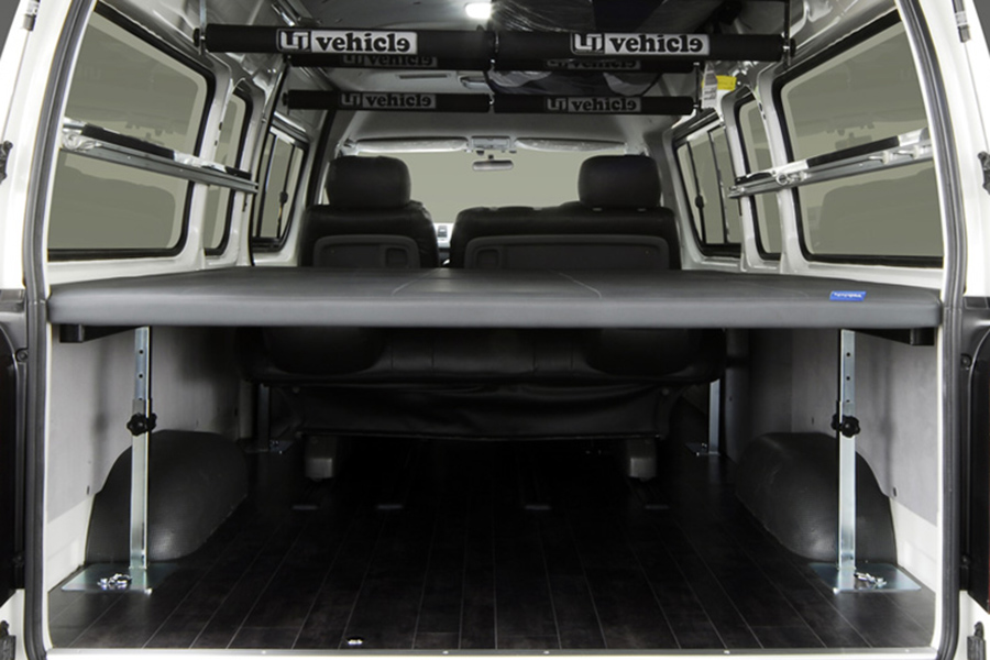 ハイエース 200系 スーパーロングバンDX用<br>マルチウェイ ベッドキット