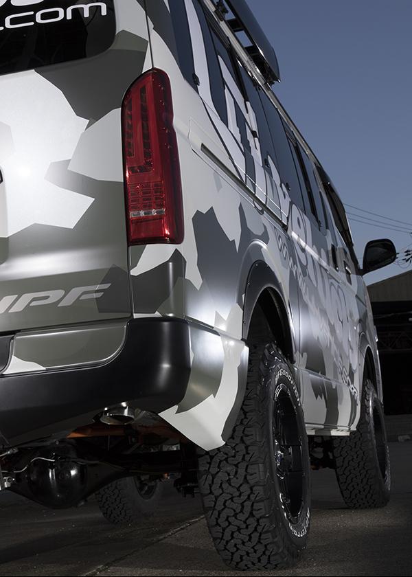 2WD用 標準ボディ / ワイドボディ 6インチリフトアップキット<br>フルセット