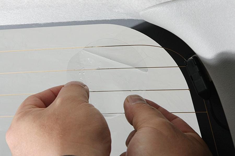 ハイエース 200系<br>遮光パッド専用の吸盤用ベースシール (10枚入り)