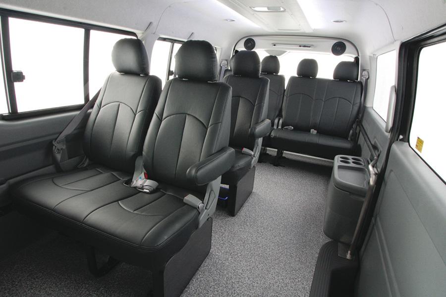 ハイエース 200系 ワゴンGL(10席分)<br>アウリコ レザーシートカバー