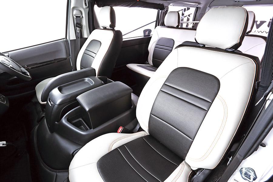 ハイエース 200系 S-GL 1台分<br>コンフォートシートカバー