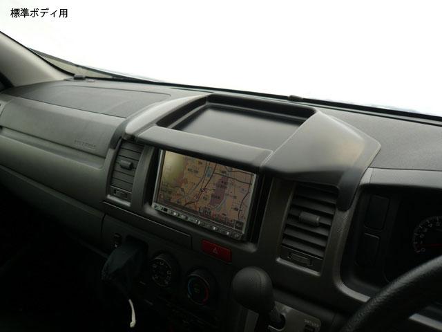 ハイエース 200系<br>トレイ付きナビモニターバイザー Ver1