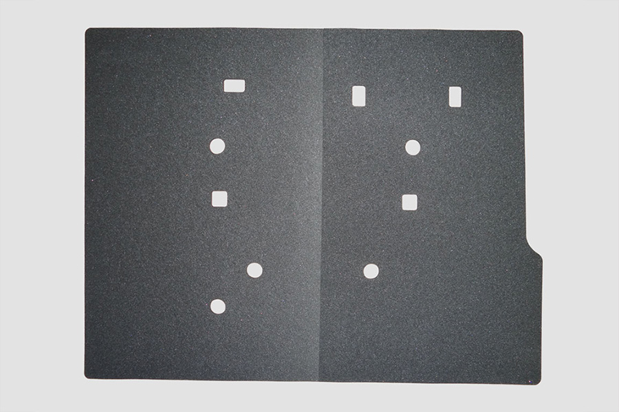 NV350 キャラバン<br>フェリソニ防音材 リアサイドパネル  1台分