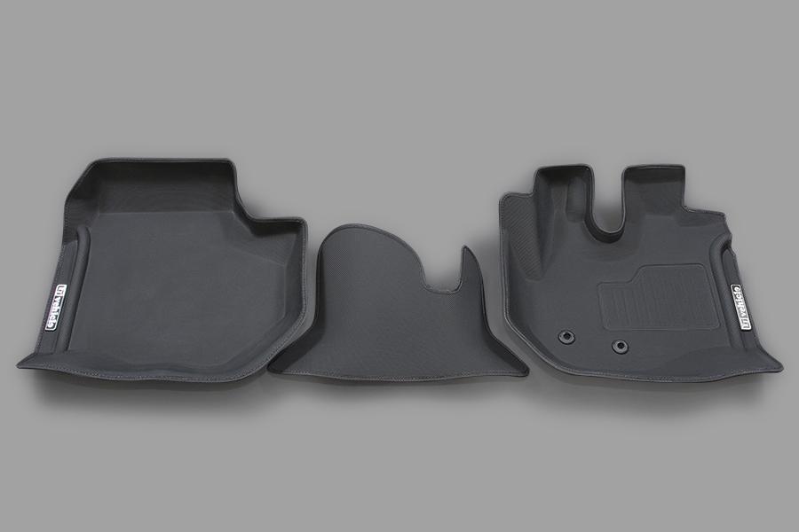 ハイエース 200系<br>3Dラバーマット フロント 3ピース