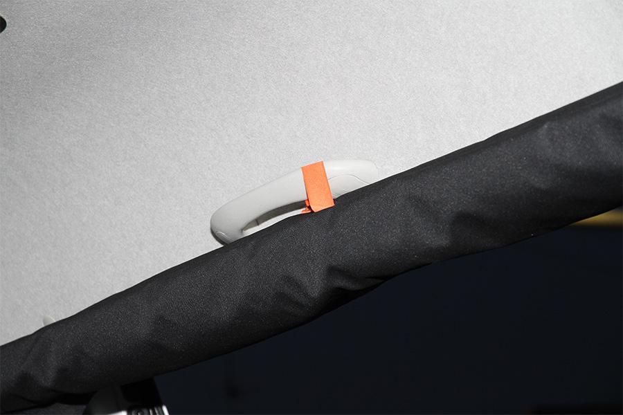 ハイエース 200系 スーパーロングハイルーフ用<br>虫除け 防虫ネット サイド1面<br>在庫切れ(注文可能 納期6月上旬~中旬頃)