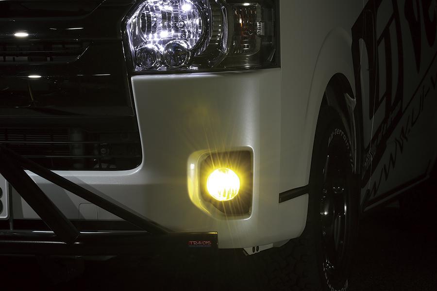 ハイエース 200系<br>切替式LEDフォグランプバルブ PSX26