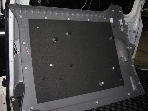 ハイエース 200系<br>フェリソニ防音材 1台分フルセット