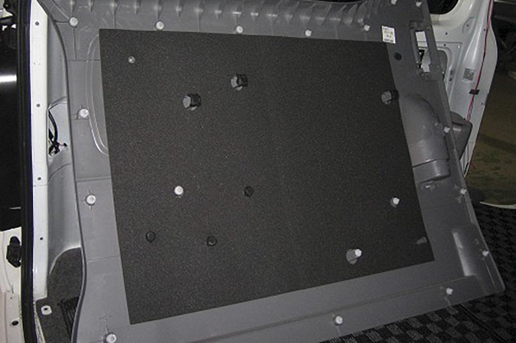 ハイエース 200系<br>フェリソニ防音材 リアサイドパネル1台分