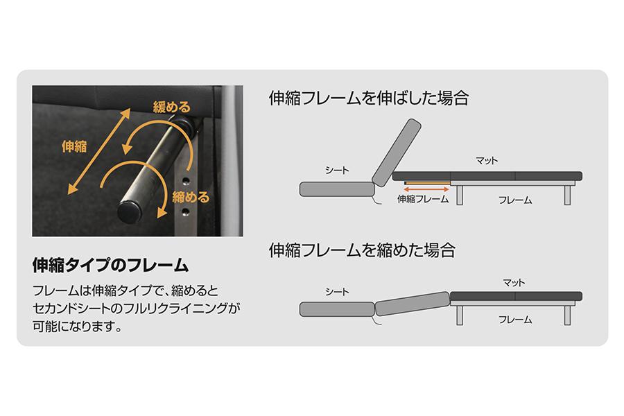 NV350 キャラバン プレミアムGX用<br>マルチウェイ ベッドキット