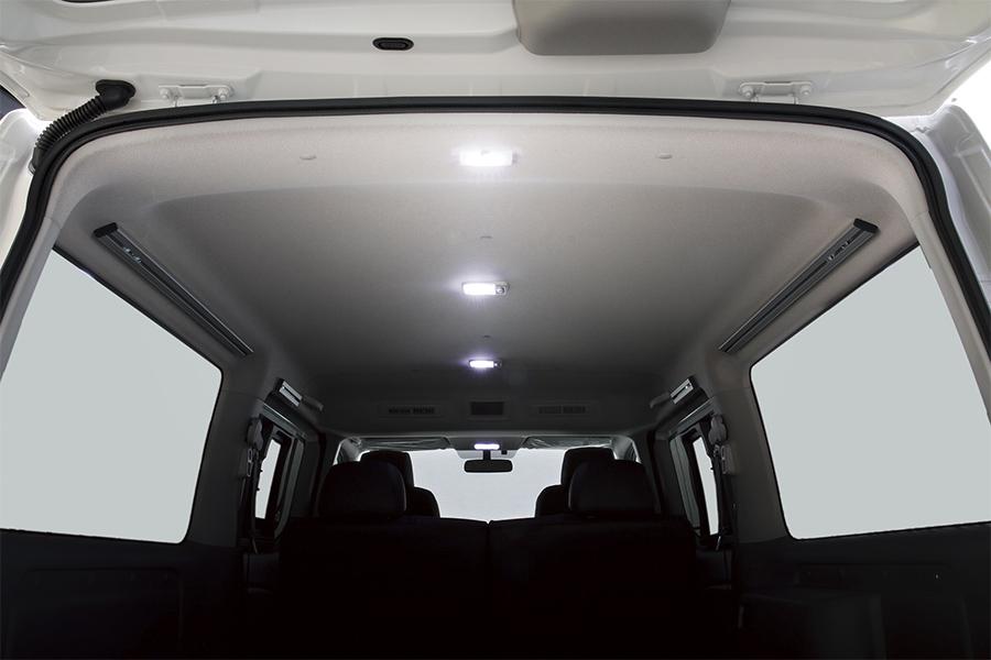 NV350 キャラバン プレミアムGX用<br>LEDルームランプセット