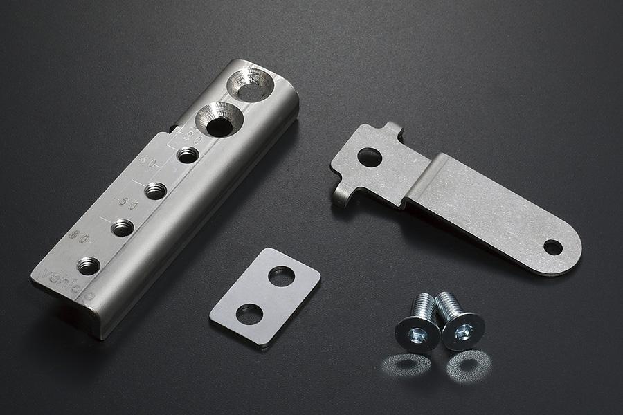 NV350 キャラバン<br>オートレベライザー&プロポーショニングバルブ補正ブラケット