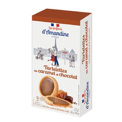 タルトチョコレートキャラメル|プレフェレ ダマンデイン タートレット|フランス輸入菓子