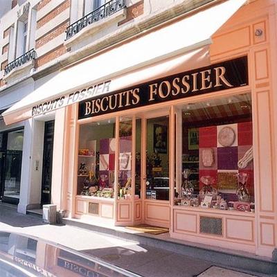 フォシェ・シャンパンサブレ 【FOSSIER】フランス・ランスの老舗菓子店 おすすめのフランス輸入食品・輸入菓子