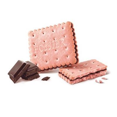 フォシェ・ピンクビスケット&ダークチョコ 【FOSSIER】フランス・ランスの老舗菓子店|おすすめのフランス輸入食品・輸入菓子|プチギフトに