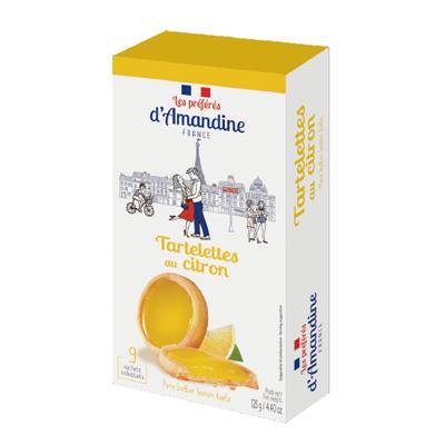 タルトレモン|プレフェレ ダマンデイン タートレット|フランス輸入菓子
