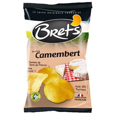 ブレッツ・カマンベールチーズポテトチップス<フランスおすすめ輸入菓子>おつまみに・サラダに