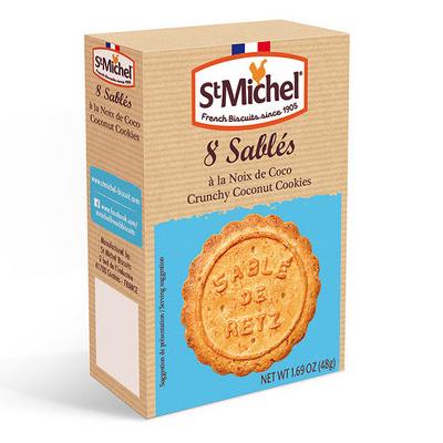サブレ ココ 8枚入り(4枚x2袋) 【St Michel/サンミッシェル】フランスのお土産・プチギフトに