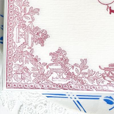 ペーパーナプキン(大)観劇の後のディナー|フランソワーズパビオ・le souper|不織布|プチギフト・おしゃれでかわいいフランス製輸入雑貨・デコパージュに<レターパックライトOK>