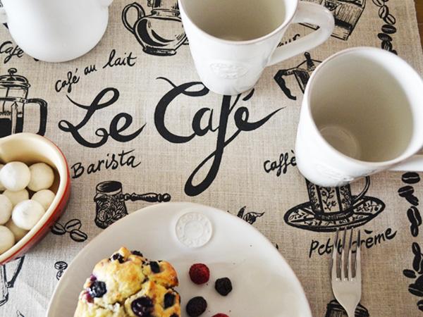 SOLD OUT ティータオル│フランス・カフェのリネン│【フランス雑貨カフェグッズ/ポスター】
