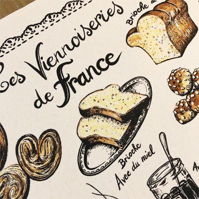 ティータオル│フランス・ヴィエノワズリーの種類【フランス雑貨パングッズ】