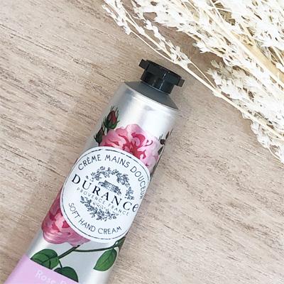 フランス製ハンドクリーム・ローズペタルの香り|フランスブランド・デュランス|オリーブオイルとアーモンドオイル配合|母の日・プチプラギフトにおすすめ