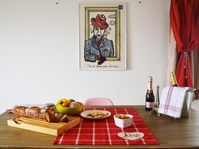フランス アルザス キッチンタオル/ティータオル Satzer