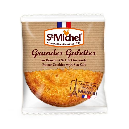 20%OFF! 限定10個 サンミッシェル グランガレットシーソルト缶入り(3枚×5袋)   【St Michel/サンミッシェル】おすすめのフランス輸入食品|輸入菓子|フランスのお土産お取り寄せ・プチギフトに