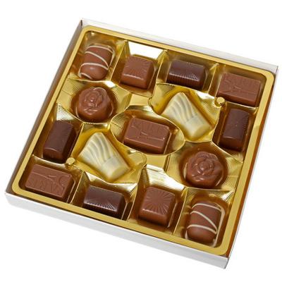 エッフェル塔のカレチョコ入り。フランス産・ゴールドアソートチョコレートBOX 【1920年JACQUOT/ジャコー】エッフェル塔チョコ入り