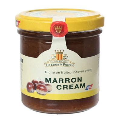 マロンクリームジャム/コント・ド・プロヴァンス/パリ国際農業見本市、農業コンクールで2018年銀賞受賞  【Les Comtes de Provence】おすすめのフランス輸入食品・輸入菓子