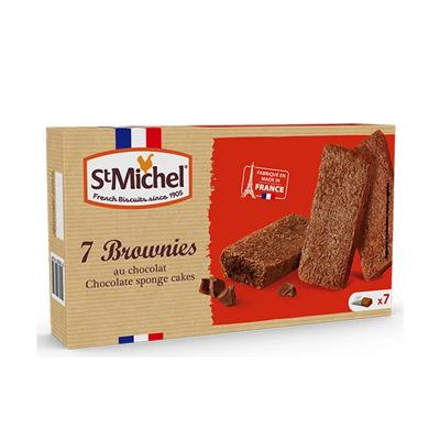 チョコレートブラウニー7個入り 【St Michel/サンミッシェル】プチギフトに|輸入菓子