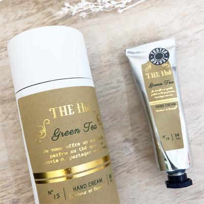 サンタールエボーテ・ハンドクリーム|緑茶の香り(グリーンティーの香り)フランス・南仏プロヴァンス<プチプラプレゼントにおすすめ><乾燥対策・保湿に>
