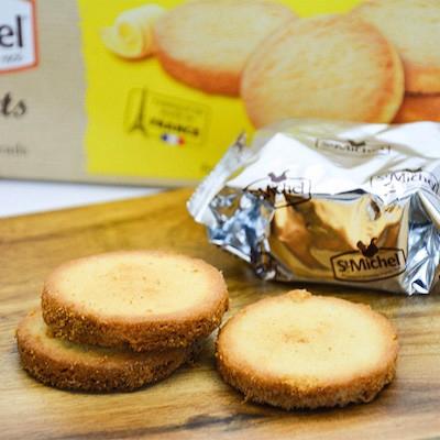 サンミッシェル厚焼きクッキー・パレット 12枚入り(3枚x4袋) 【St Michel】フランスの輸入菓子・お土産お取り寄せ・プチギフトに