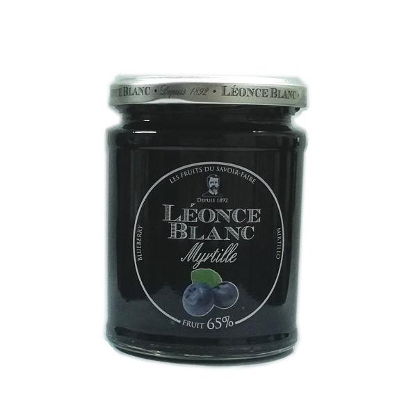 フランスの美味しいブルーベリージャム・レオンスブランのブルーベリージャム330g