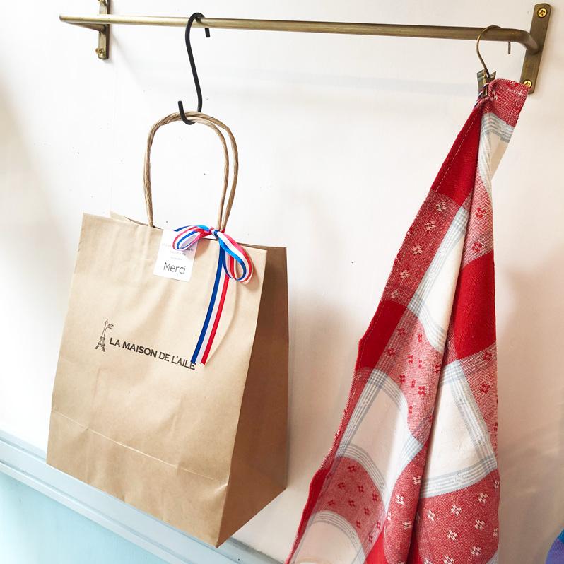 シンプル手提げ袋