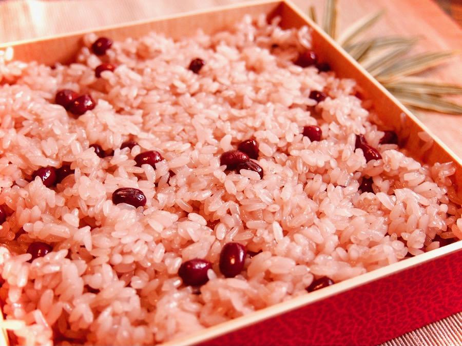 赤飯 早炊 米 (大納言小豆使用)1箱(1kg×12袋)【業務用】簡単調理で便利です。【常温便】