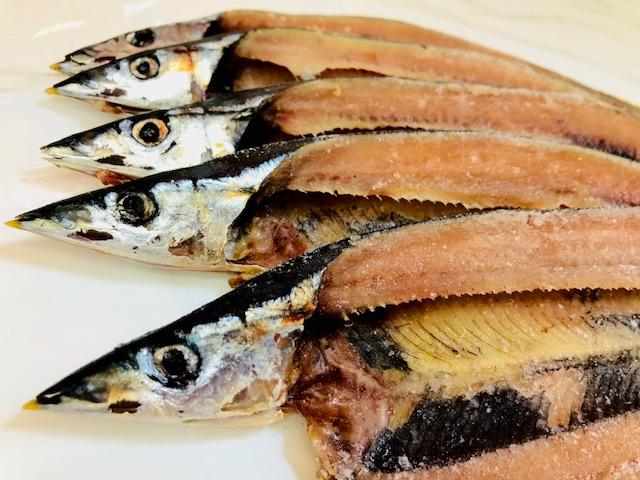 さんま ひもの  【業務用・60枚入り】国内産、脂ののった時期の秋刀魚を使用しています【冷凍便】