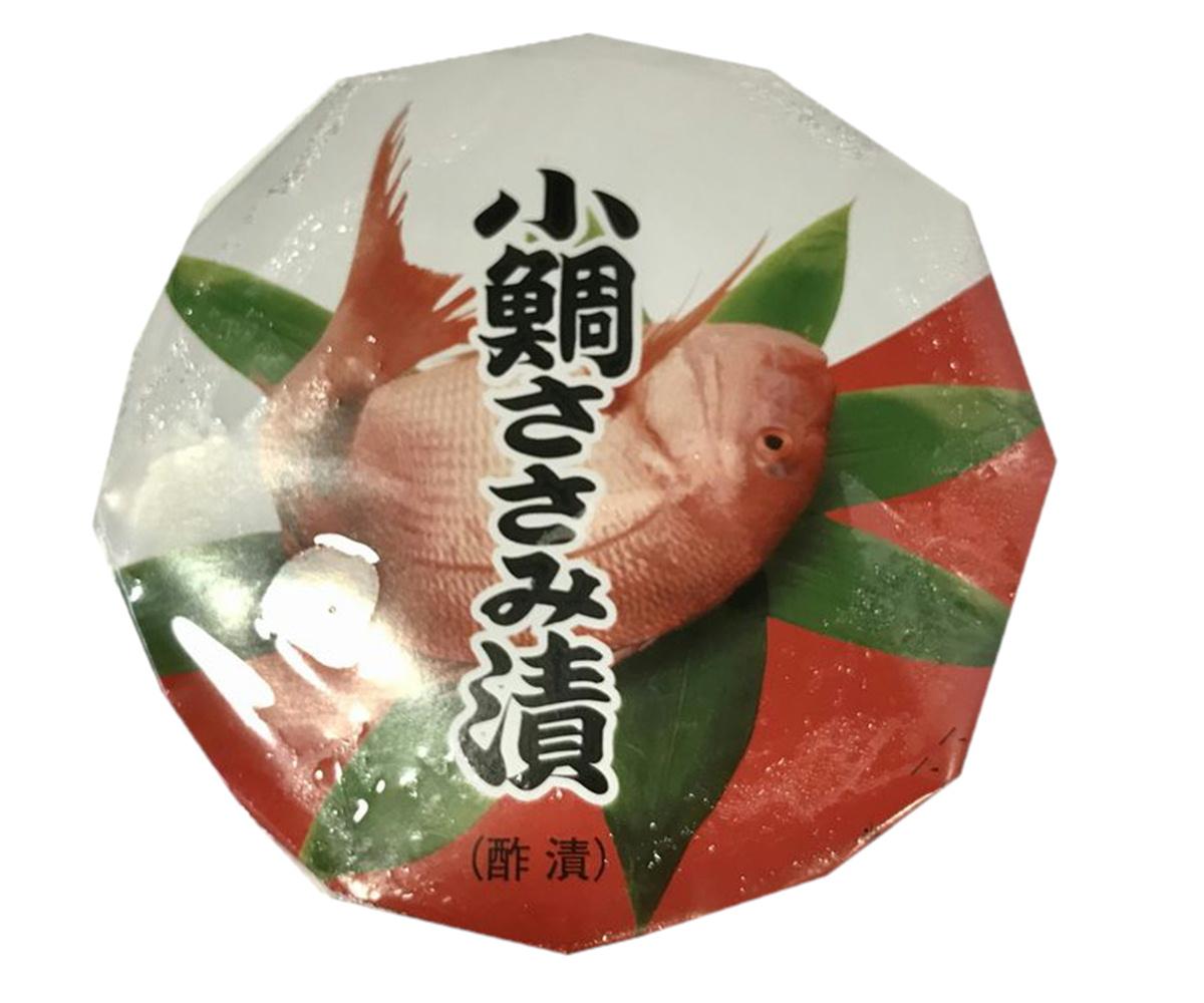 小鯛 ささみ 漬け 140g入り 業務用【1ケース24個入り】箸休めにいかがでしょうか【冷凍便】