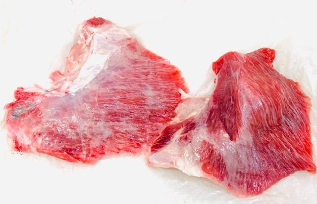 本まぐろ( ほほ肉  1kg ・脳天の身 1kg )合計2kgセット【希少部位・食べ比べ】