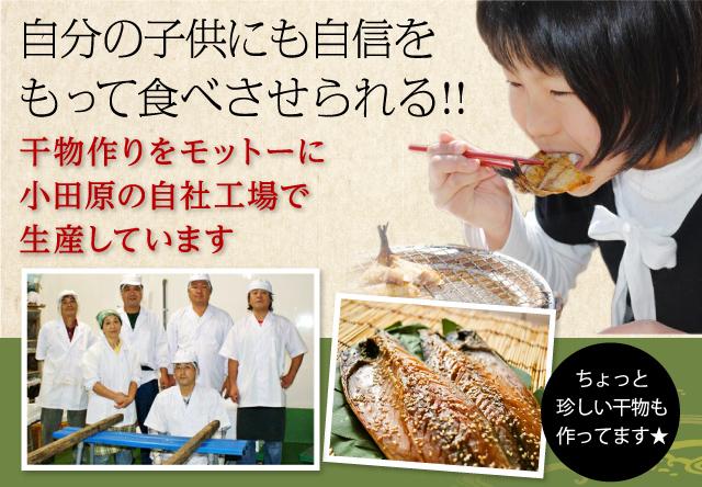 さば 干物 ・国産 10枚入( 小田原 ひもの  ・ 山市商店 )自分の子供にも自信をもって食べさせています!【冷凍便】