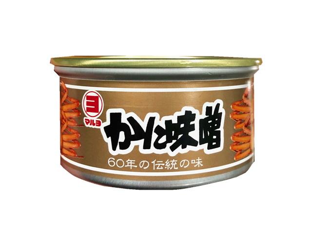 かにみそ 100g入り×3缶セット、マルヨ水産 ・日本酒のあてに【うまみ凝縮】寿司・パスタ・味噌汁・ラーメン・焼物・炒め物に・・
