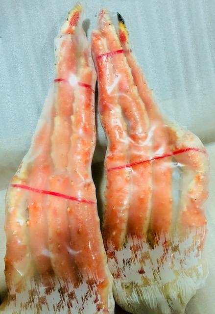 たらば蟹 ・ボイル たらばがに 1肩(約800g)身入り 【8割以上】大満足!5L 特大サイズ【冷凍便】