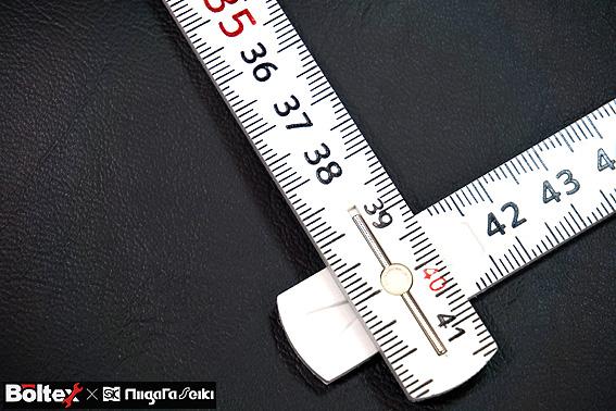 【ボルテックス】BOLTEX 剛尺  折尺 ホワイト 1m 5折 GS-1<BR>しなりの少ない 使い勝手の良い折尺【寅壱・関東鳶・鉄筋 職人向け工具】