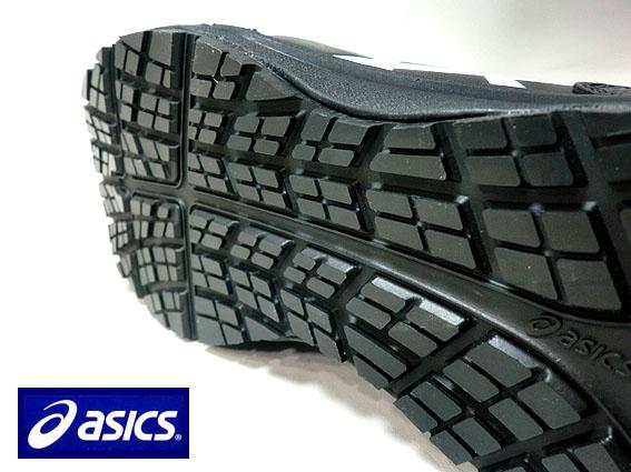 【送料無料】アシックス 安全靴 スニーカーひもタイプFCP-103 【ブラックXホワイト】ウィンジョブ【作業用安全靴】JSAA規格A種 3E ASICS