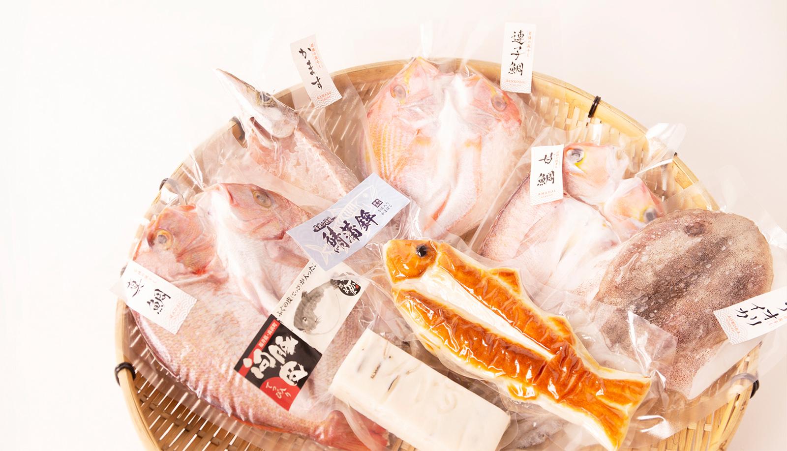 《お中元にオススメ》福井の味覚を詰め込んだ米かまと鯖蒲鉾&旬の厳選灰干しの贅沢セット