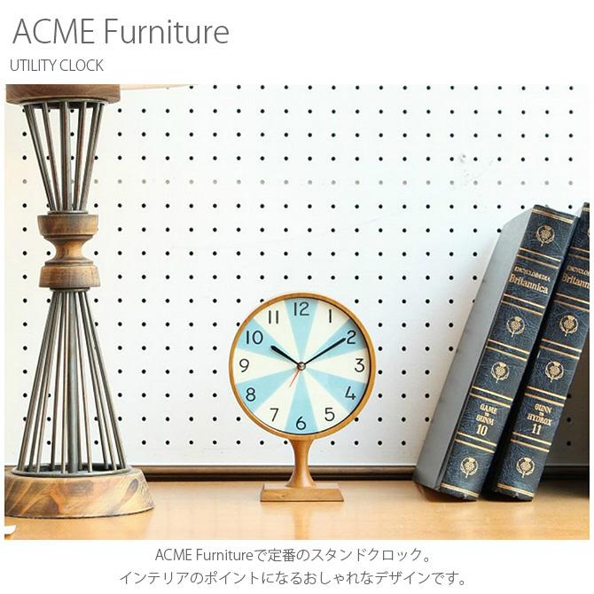 ACME Furniture アクメファニチャー UTILITY CLOCK