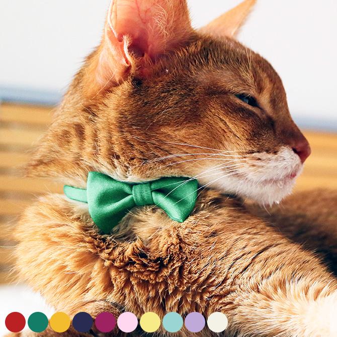 necono ネコノ 猫の首輪 Luce Ribbon ルーチェ リボン