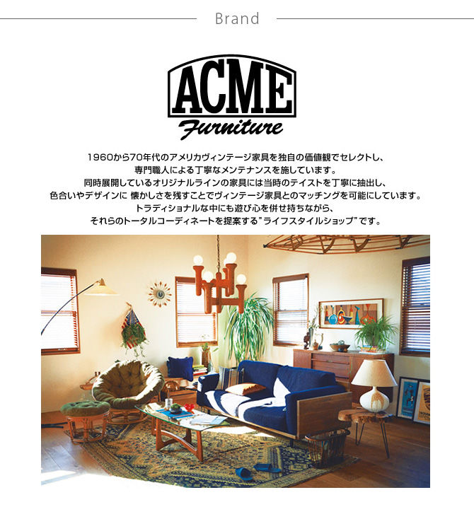 ACME Furniture アクメファニチャー AHS シャンプーボトル