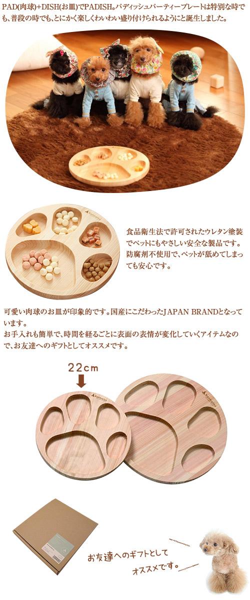 kanbatsu  PADISH Party Plate   パディッシュパーティープレート 220
