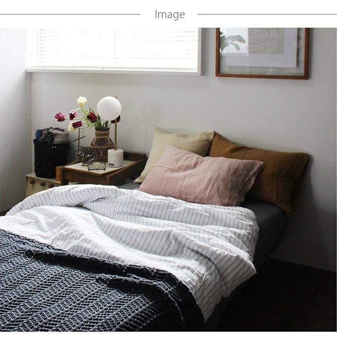 journal standard Furniture ジャーナルスタンダードファニチャー STRIPE 掛け布団カバー ダブル用